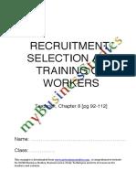RecruitmentSelectionandTrainingofWorkers Encrypted