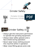 Grinder Safety