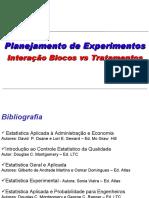 Interacao Blocos Versus Tratamentos Para Os Alunos Em 100417