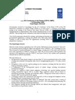 UNDP Cop15 Summary