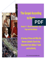 7 Church Authority the Pope and Bishops