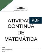 d8b5cd5b2 Atividade Continua de Matemática