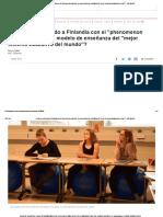 ¿Cómo Le Está Yendo a Finlandia Con El _phenomenon Learning_, El Nuevo Modelo de Enseñanza Del _mejor Sistema Educativo Del Mundo__ - BBC Mundo