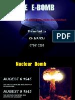 E bomb PPT by Kesav