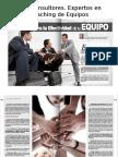 Artículo Coaching de Equipos. Global Coaching Magazine