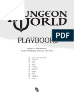 Dungeon World Playbooks