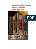 Faith in the Divine Books (English DVD Shaikh Dr.abdullah Al-Farsi)