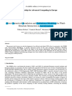 Direct Numerical Simulation and Turbulence Modeling for Fluid