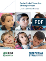 London Education Strategic Paper