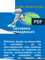 Diapositivas Ambiente Del Marketing