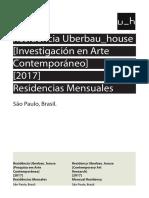 Uberbau House Residencias Mayo-septiembre 2017