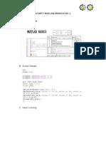 Script Matlab Dasar Komputasi Geofisika