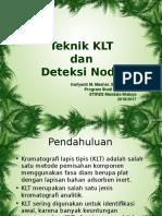 KLT Dan Deteksi Noda