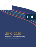 Draft National Disability Strategy 2010