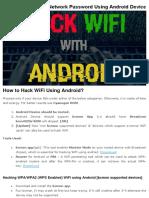 Wifi Hacking Tricks Pdf