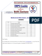 IBPS Guide -Monthly Current Affairs Capsule July 2016 Www.ibpsguide.com