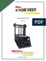 Manual de Instrucoes - Injector - Test