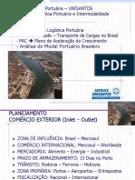 Modulo Logistica Portuária e Intermodalidade - Aula 4a