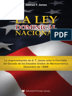 Alonzo T. Jones - La Ley Dominical Nacional (Adventist Pioneer Library, 2016)