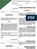++Reglamento sobre la Organizacion del Control Interno en la Administracion Publica Nacional