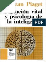 Adaptacion Vital y Psicologica de La Inteligencia