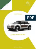 Ficha Citroën C4 Cactus