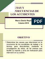 Causas y Consecuencias de Los Accidentes