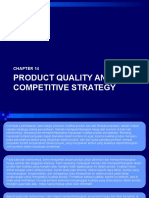 Product Quality and Competitive Strategy