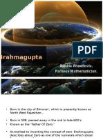 Brahmagupta Ppt.