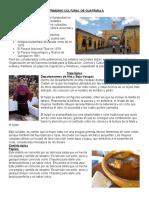 Patrimonio Cultural de Guatemala