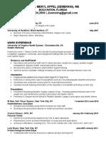 jenna meryl appel  zemering - resume