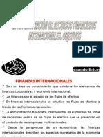 Presentación Tema Nro. 1 Finanzas Internacionales.