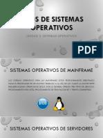 Administración de Los Sistemas Operativos I