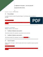 Modifications des règlements de Spira – AGA Du 12 Juin 2017