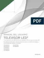 Tv Lg Smartv Model 23lb580b 501199