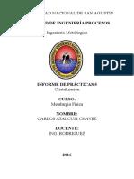 informe 5cristalizacion