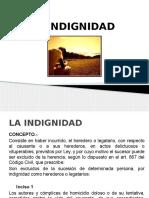 Clase 05 - Indignidad
