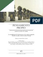 2016 Pensamiento Propio La consolidacion de la democracia en AL.pdf