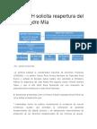 CNDDHH Solicita Reapertura Del Caso Madre Mía por Carlos Rivera Paz