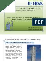 Apresentação 05 - Estabilidade Global