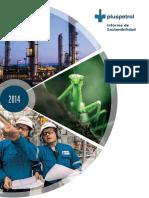 Informe de SOSTENIBILIDADA  PLUSPETROL  tartagal 2014.pdf