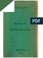 Apartes de Palmira Historica- Tulio Raffo