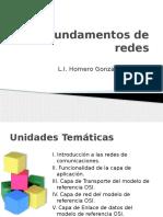 Fundamentos de Redes 2011