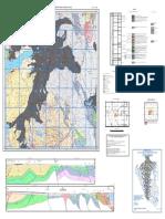 Mapa Geologico Del Cuadrangulo Cerro de Pasco Hoja 22K- III