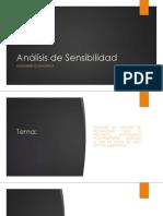 ANÁLISIS DE SENSIBILIDAD A PROYECTO