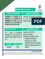 11v05-V1 Auditoria Interna en Un s.g.c
