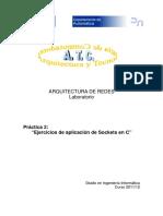 Prac2.Ejercicios de Aplicacion Sockets(JM)