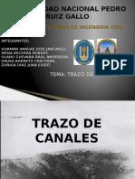 Diapositivas de Trazo de Canales