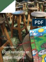 Libros cartoneros en lenguas indígenas