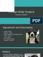 foreign body surgery presentation